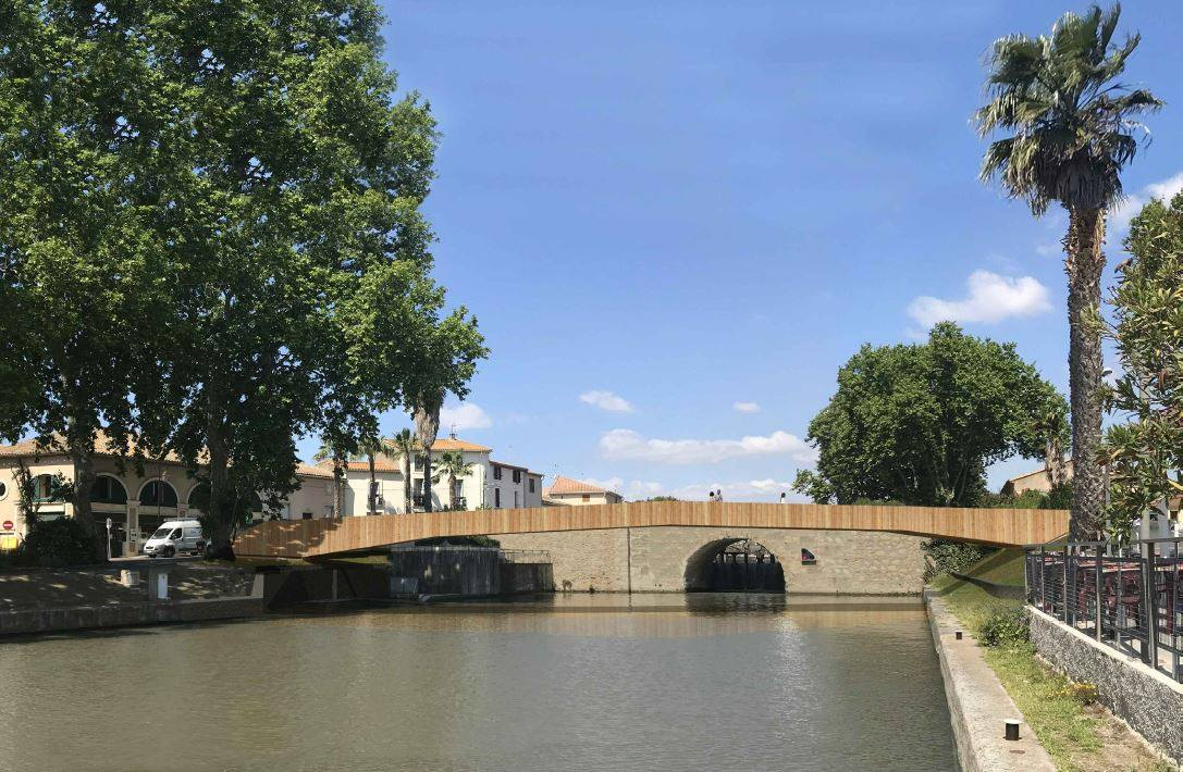 You are currently viewing Passerelle sur le Canal du Midi