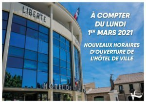 Read more about the article Changement d'horaire