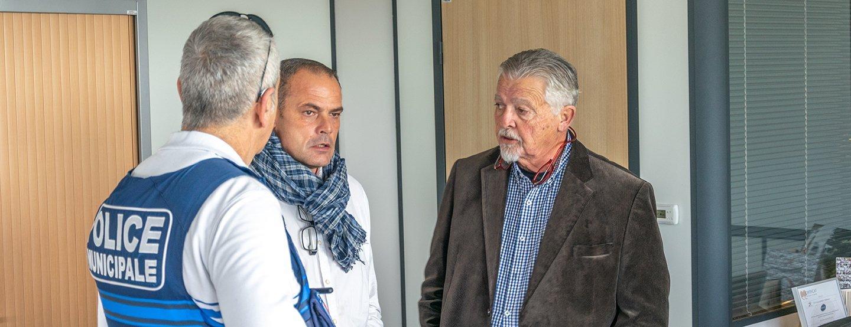 Zone de la méridienne, Jean-Paul Galonnier à la rencontre des chefs d'entreprises
