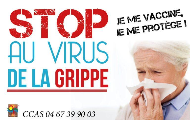 Stop au virus de la grippe