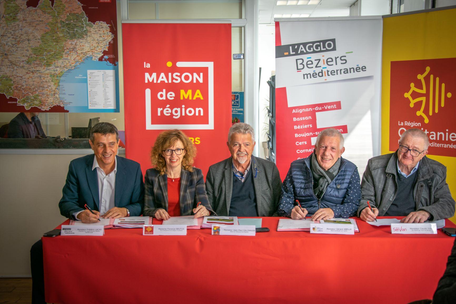 Signature du contrat bourg-centre