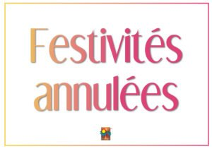 Annulation des festivités
