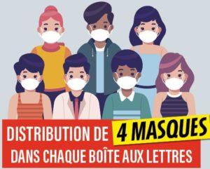 Read more about the article La ville distribue des masques
