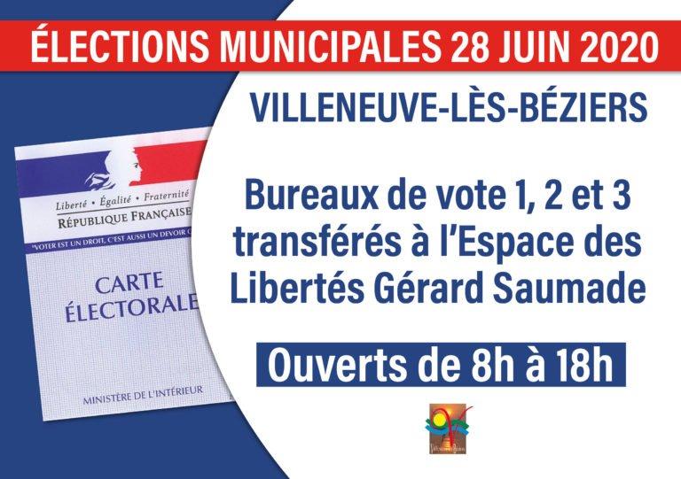 Élections municipales 28 juin 2020