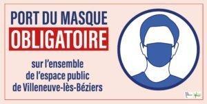 Read more about the article Port du masque obligatoire