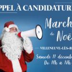 Appel à candidatures – Marché de Noël